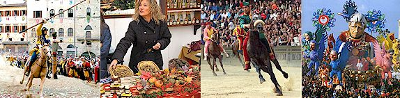 Festivals, feste, sagre and fairs of Tuscany
